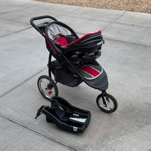 FastAction™ Fold Jogger Click Connect™ Travel System for Sale in Austin, TX