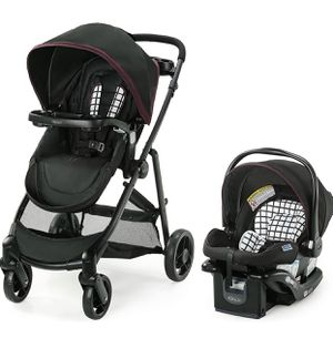 Graco Modes Element Travel System | Includes Baby Stroller with Reversible Seat, Extra Storage, Child Tray and SnugRide 35 Lite LX Infant Car Seat, A for Sale in Las Vegas, NV