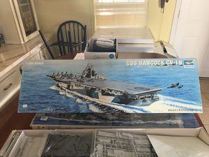 USS Hancock cv-19 model kit for Sale in Plant City, FL