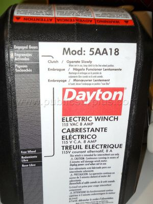 Dayton Electric Winch 5AA18 for Sale in Atlanta, GA
