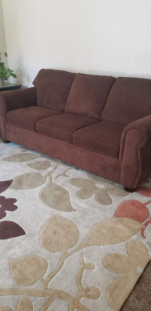 SOFA AND LOVESEAT WITH CARPET for Sale in Modesto, CA