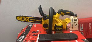 """Dewalt 20V XR Brushless 12"""" Chainsaw (tool only) $110 for Sale in Silverado, CA"""