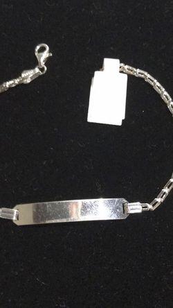 Silver Brazalete for Sale in Stockton,  CA