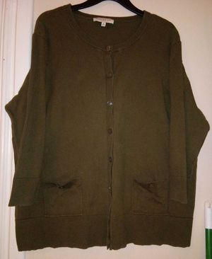 Olive green cardigan for Sale in Bloomington, IL