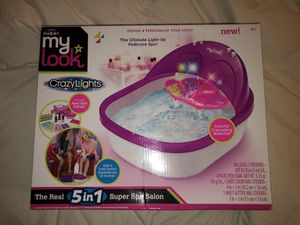 Crazy lights toy foot spa for Sale in Potomac Falls, VA