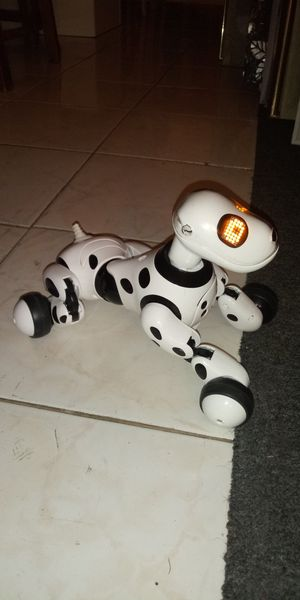 Toy electronic smart robot dog that walks, barks and more for Sale in Houston, TX