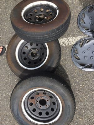 3 5-Lug trailer tires for Sale in Centralia, WA