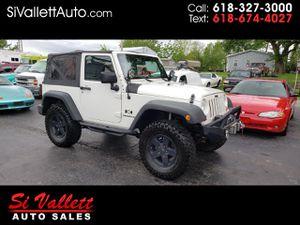 2009 Jeep Wrangler for Sale in Nashville, IL