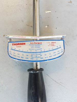 Thorsen - Tri Torque 1/2 drive for Sale in Fort Lauderdale, FL