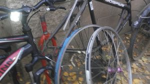Beachcruiser and mountain bike many parts for Sale in Ceres, CA