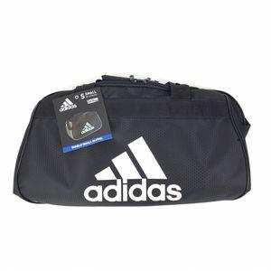 Adidas Diablo Small II Hex Solid Duffel Bag Gym Classic Black/White 141213C for Sale in Las Vegas, NV