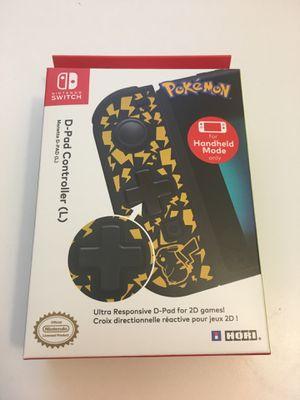 Nintendo Switch Hori D-Pad Controller - pikachu pokemon Edition for Sale in Atlanta, GA