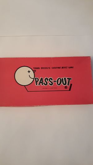 PASS-OUT Vintage Party Game for Sale in Brunswick, OH
