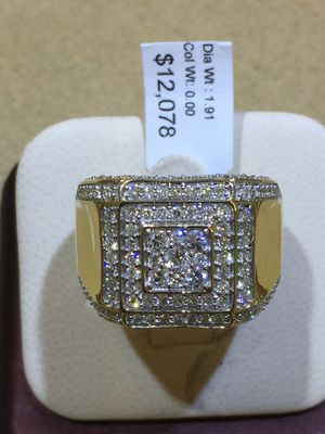 10 k Men's diamond ring for Sale in Dallas, TX