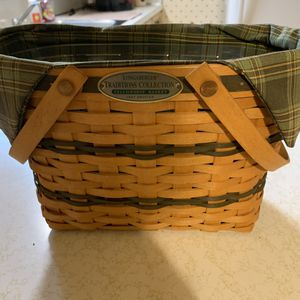 Longaberger Traditions Collection 1997 Edition. Excellent condition. Basket, protector and liner included for Sale in Canton, OH