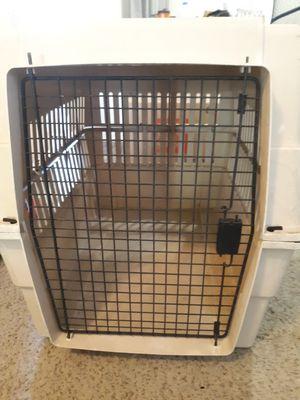Large hard plastic dog kennel $75 for Sale in Tempe, AZ
