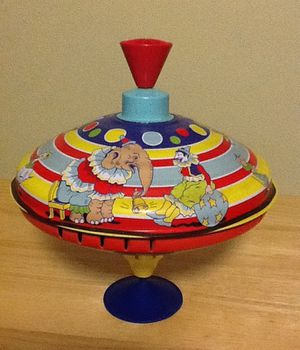 Schilling Collectable Childs Metal Toy Top-Circus for Sale in Silver Spring, MD