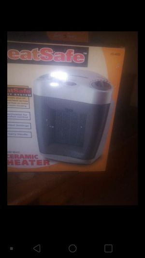 Ceramic heater and fan for Sale in Colesville, MD
