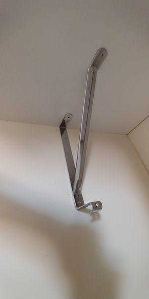 Adjustable shelf & oval rod brackets for Sale in Fair Lawn, NJ