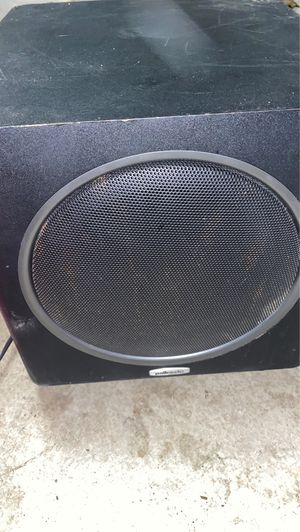 Polk audio powered subwoofer for Sale in Stockton, CA