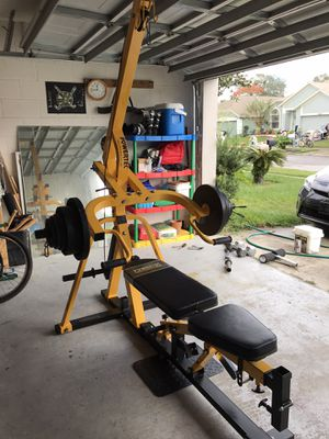 Weight lifting set [powertech] for Sale in Oviedo, FL