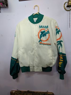 RARE Miami Dolphins Jacket, Chalk Line 1980's for Sale in Tarpon Springs, FL