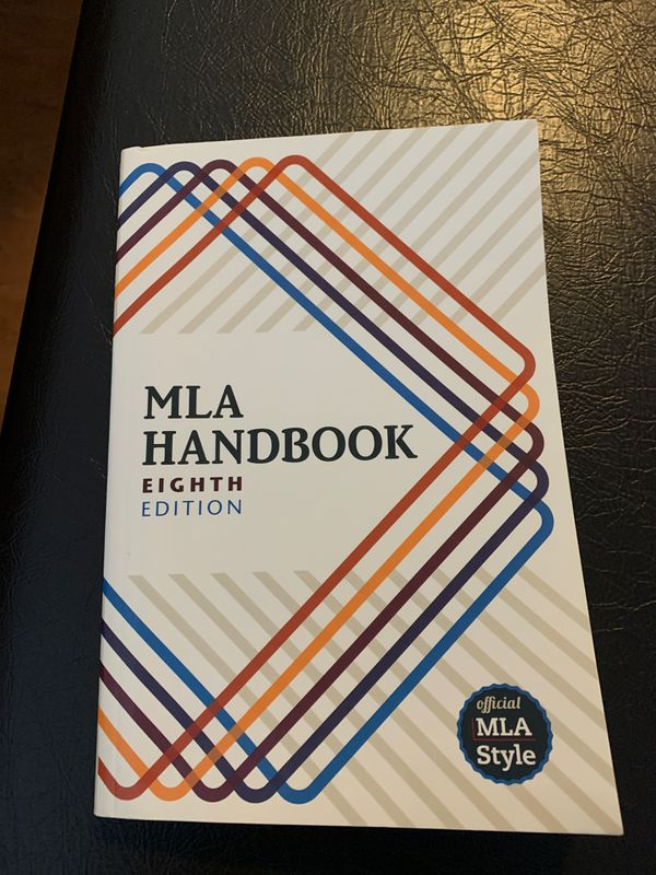 MLA Handbook Eighth Edition