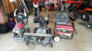pressure washer, snow blower, generator, elec heater for Sale in West Newton, PA