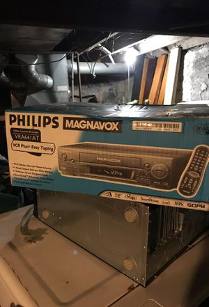 Philips Magnavox video cassette recorder for Sale in St. Louis, MO