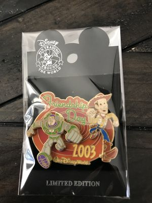 Friendship Day Woody and Buzz Disney Pin for Sale in La Verne, CA