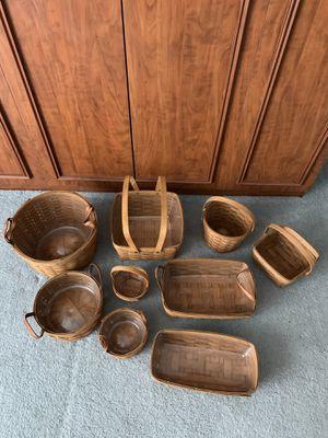 Bundle of Longaberger baskets for Sale in Boca Raton, FL