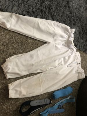 Baseball pants socks and belts for Sale in Ontario, CA