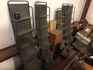Display shelves 5 total for Sale in Leesburg, VA