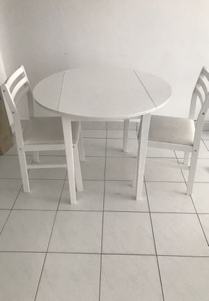 Table & 2 Chairs for Sale in Miami Beach, FL