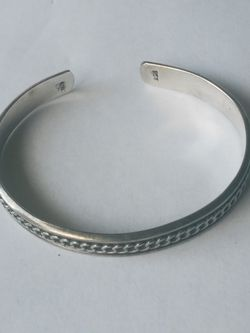 Vintage Sterling Silver Mexico Cuff Bracelet for Sale in Tacoma,  WA