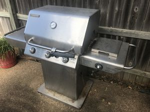 bbq grill with side burner for Sale in Arlington, TX