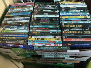 DVD Movies $1 each if buy 12 for $10 for Sale in Stockton, CA