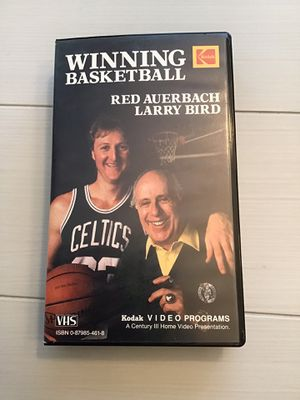 Winning Basketball: Larry Bird and Red Auerbach Classic VHS (1987) for Sale in Goodlettsville, TN