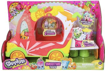 Shopkins - Shoppies: Smoothie Truck and Original Accessories for Sale in Marietta,  GA