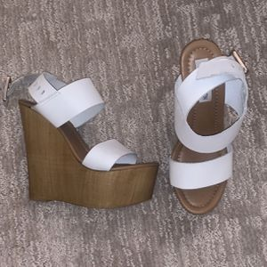White Steve Madden Wedges for Sale in Normandy Park, WA