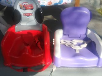 Activity Table. Crib Mattress. Toddler Booster Seats. Kids Wheelburrow. for Sale in Damascus,  OR