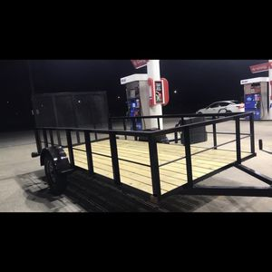 Brand New 6x12 High Side Utility Trailer for Sale in Eastover, SC