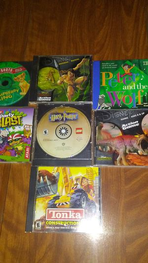 7 kid's computer games all in good condition for Sale in Lexington, KY