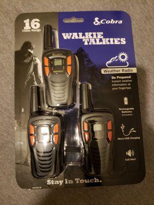 Walkies Talkies Professional New for Sale in Manassas, VA