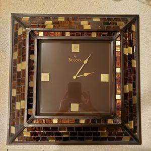 Wall clock BULOVA for Sale in Arlington, TX