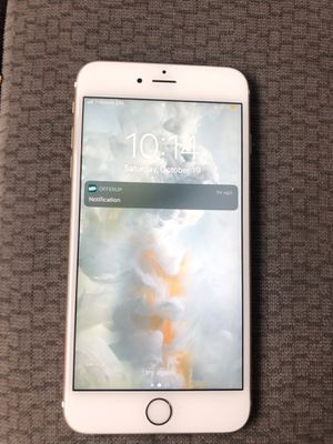 Iphone 6s plus 64 gig rosegold unlocked $200 negotiable for Sale in Orlando, FL