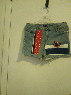 Flag style Arizona jean shorts. for Sale in Indianapolis, IN