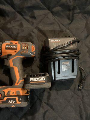 RIDGID drill set for Sale in Hemet, CA