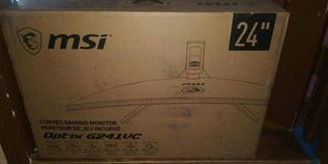 "24"" MSI Curved Gaming Monitor for Sale in Pomona, CA"