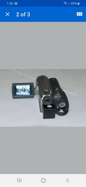 Panasonic 32 Zoom camcorder carrying case and two DVC cassettes included or best offer accepted for Sale in Fresno, CA